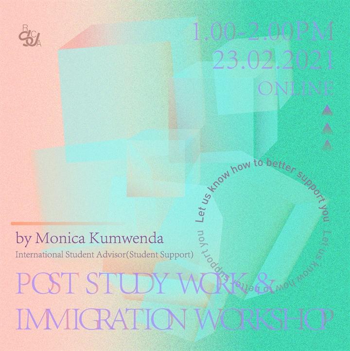 Post-study work & immigration workshop