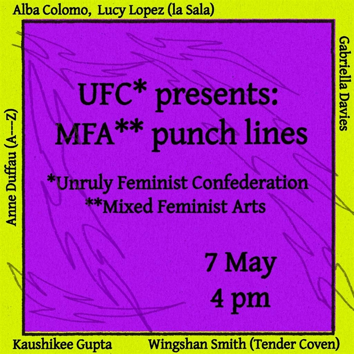 UFC* presents: MFA** punch lines